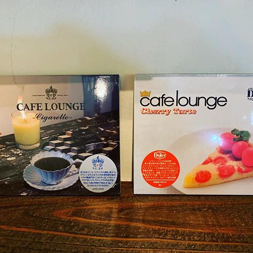 """久々にCDが届きました!昔から好きだったCAFE LOUNGEシリーズより、ちょっと大人の""""Cigarette""""と、アコースティックでゆったりした仕上がりの""""Cherry Tart""""。"""