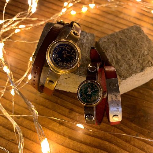 今年のクリスマスも、JHA関西の手造り腕時計のご予約を承っております。