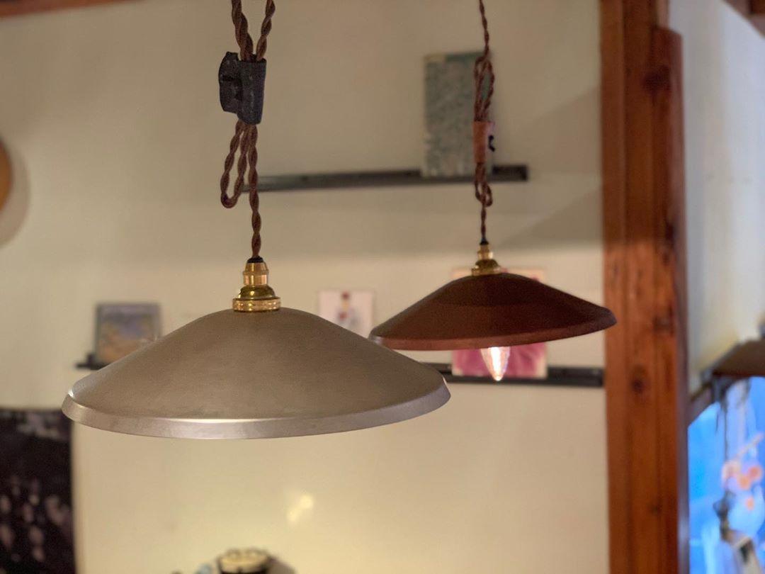 【Online Shop】モメンタムファクトリー・Orii「pendant light WIDE」